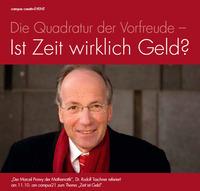 Dr. Rudolf Taschner am campus21@campus21 (campus creativ – Top A01 115)