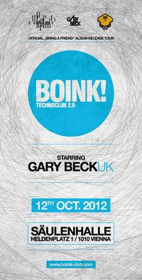 Boink! with Gary Beck@Säulenhalle