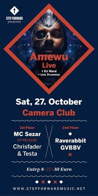 Step Forward presents Amewu (edit Berlin) Live