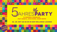 Cultiva - 5 Jahres Party
