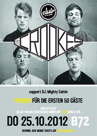 The Crookes live