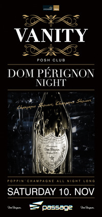 Vanity - The Posh Club pres. Dom Perignon Night