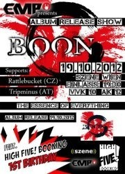 Emp presents Boon Album Release Show feat. 1st High Five@((szene)) Wien