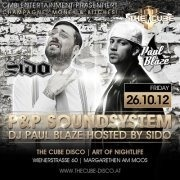 Sido & Dj Paul live@the cube disco