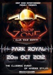 Drop Zone with Alien T