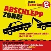 Abschlepp Zone