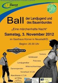 Landjugend und Bauernbund Ball Neustadtl