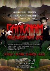 Halloween Gangnam Night@Club Avenue
