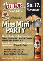 Duke Miss Mini Party