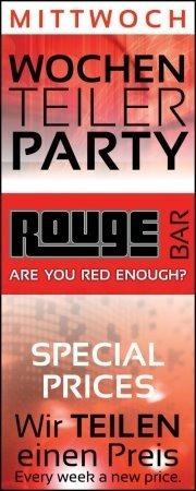Wochenteilerparty - mit DJ David Long@Rouge Bar
