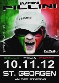 Bella Italia Party mit Dj Ivan Fillini@Mehrzweckhalle