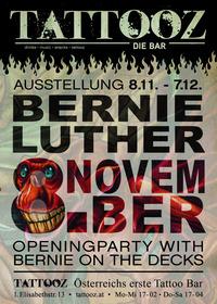 Ausstellung Bernie Luther@Tattooz-die Bar