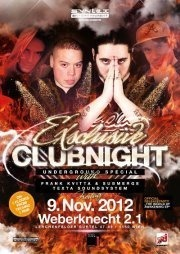 ExSclusive Clubnight with Frank Kvitta  Submerge and Texta@ExSclusive Clubnight