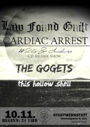 Cardiac Arrest CD-Release-Party@Stadtwerkstatt