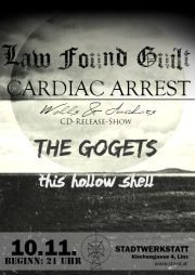 Cardiac Arrest CD-Release-Party