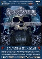 Graveworm@Escape Metalcorner
