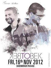 Club Fusion presents Bek2bek@Babenberger Passage