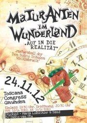 Maturanten Im Wunderland - Don Bosco Ball 2012