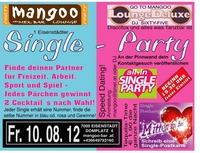 2. Eisenstädter Single Party