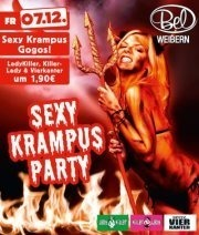 Sexy Krampus Party@Disco Bel