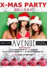 X-Mas Party    Avenue@Club Avenue