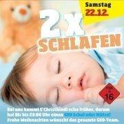 2 X Schlafen