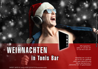 Weihnachten in tonis bar