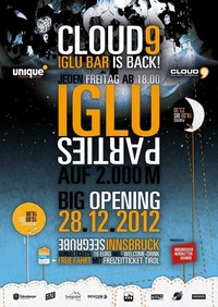 Big Opening - Cloud9 Iglu Bar