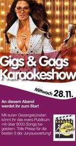 Gigs & Gags Karaokeshow@Evers