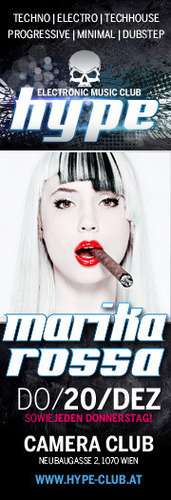 Hype Club pres. Star Guest Marika Rossa!