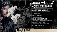 Guess who? ... Martin Patiño (cadenza) - live in concert