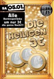 Die Heiligen 3 Euro