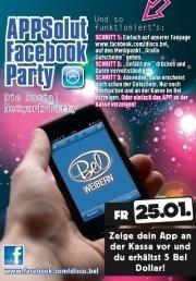 APPSolut Facebook Party@Disco Bel