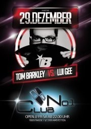 DJ Tom Barkley vs Lui Gee@No.1 Club