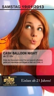 Cash Balloon Night