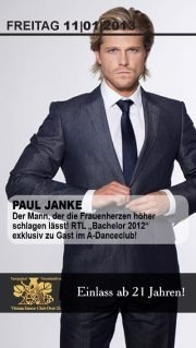 A-Danceclub feat. RTL Bachelor 2012 Paul Janke