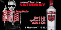 Smirnoff feat. Loco Saturday@Loco
