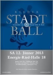 Rieder Stadtball 2013 organisiert von Round Table 31 Ried