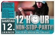 12 Stunden Non-stop Party