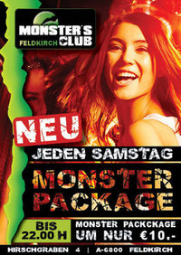 Monster Package@Monsters Clubs
