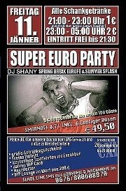 Super Euro Party with DJ Shany