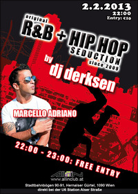original R&B + Hip Hop Seduction since 2009 by dj derksen@All iN