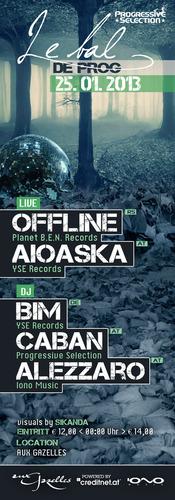 Progressive Selection mit Dj Bim, Offline & Aioaska@Aux Gazelles