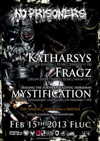 Breakout Anniversary - 1 Year No Prisoners feat. Katharsys & Fragz & Mystification@Fluc / Fluc Wanne