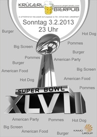 Superbowl Party @Bierpub Krügerl