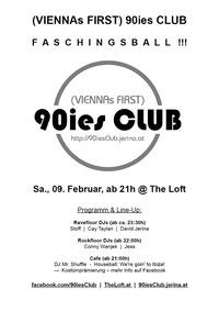 90ies Club: Faschingsball