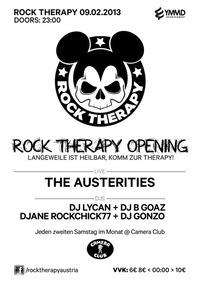 Rock Therapie Opening@Camera Club