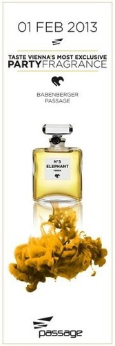 Elephant No.5  The Partyfragrance@Babenberger Passage