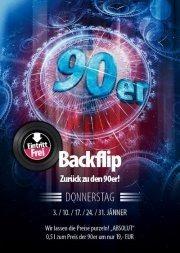 Backflip - Zurück zu den 90er@jaxx! Partyclub