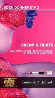 Cream  Fruits@A-Danceclub